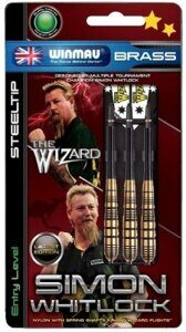 Дротики Winmau Simon Whitlock Brass steeltip 22gr (начальный уровень)