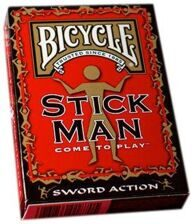 Bicycle Stick Man